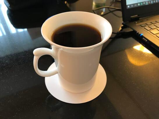 ウェスティンホテル東京の客室コーヒー