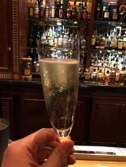 ウェスティンホテル東京のザ・バーのスパークリングワイン