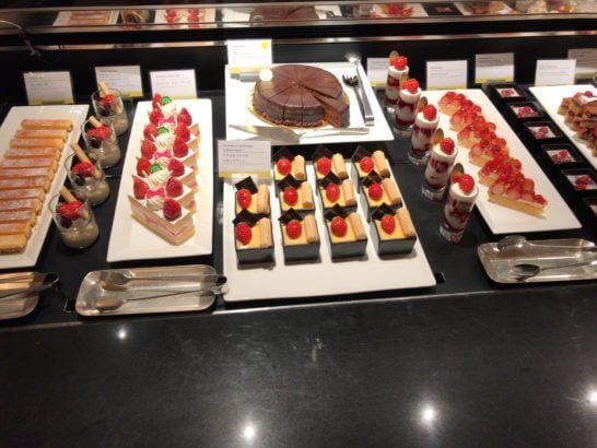 ウェスティンホテル東京のザ・テラスのディナー (スイーツ)