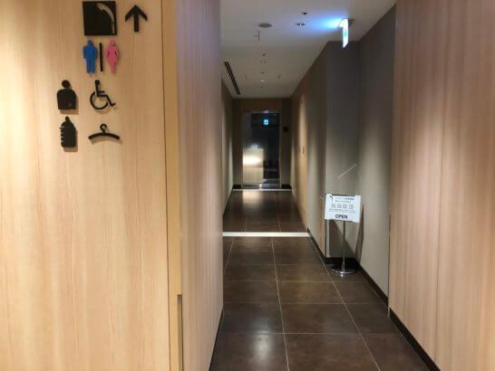 サクララウンジ(羽田空港国際線)のシャワールーム