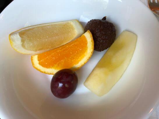ウェスティンホテル東京のザ・テラスのフルーツ