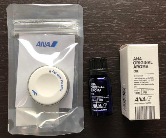 ANAアロマストーンディフューザーとオリジナルオイル