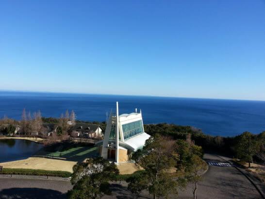 ヒルトン小田原の客室からの眺め