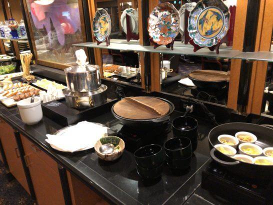 ウェスティンホテル東京 エグゼクティブ クラブラウンジのホットミール・スープ類