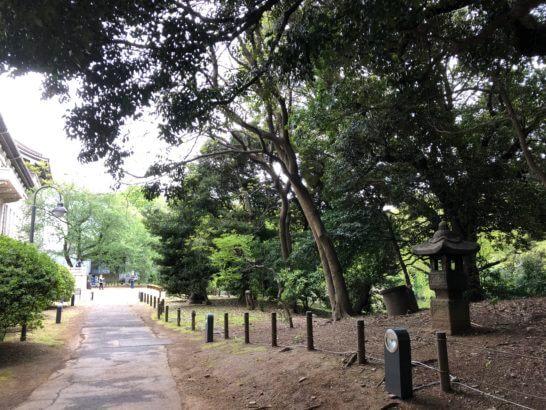 東京国立博物館の敷地内