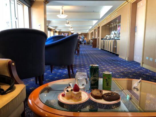ウェスティンホテル東京のクラブラウンジ
