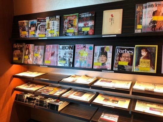 TIAT LOUNGE ANNEXの雑誌・新聞