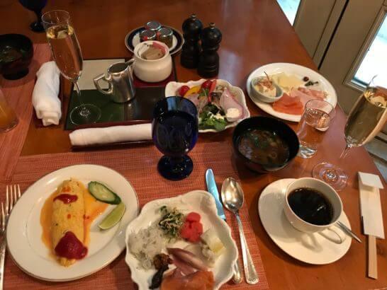 ザ・リッツ・カールトン大阪の朝食
