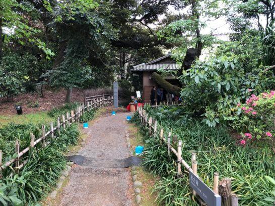 東京国立博物館の通常は非公開の茶室「転合庵」