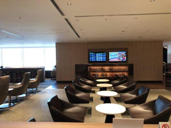 サクララウンジ(羽田空港国際線)の5Fのスペース