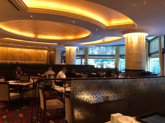 ウェスティンホテル東京のザ・テラスの雰囲気