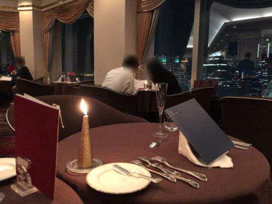 横浜ベイシェラトンホテルのスカイラウンジ「ベイ・ビュー」
