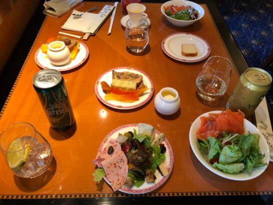 ウェスティンホテル東京 エグゼクティブ クラブラウンジの飲食