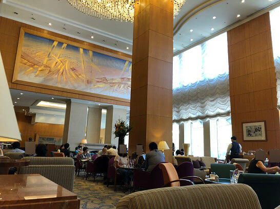 横浜ベイシェラトンホテル&タワーズのロビーラウンジ「シーウインド」