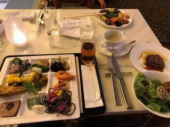 ウェスティンホテル京都のディナービュッフェ