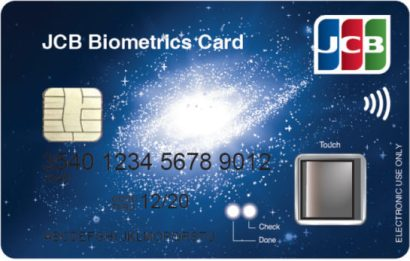 JCB Biometrics Card