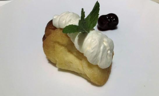 ラム酒風味のババ ベルガモットクリーム アマレーナ