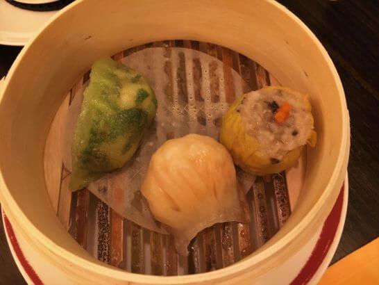 横浜ベイシェラトンホテルの彩龍の点心