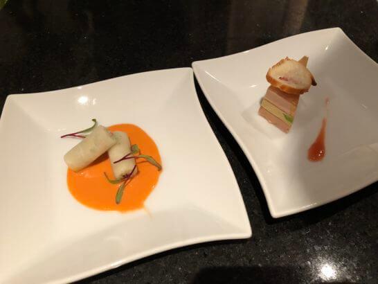 LA LISTE日本最優秀レストランを祝うレセプションの料理 (3)