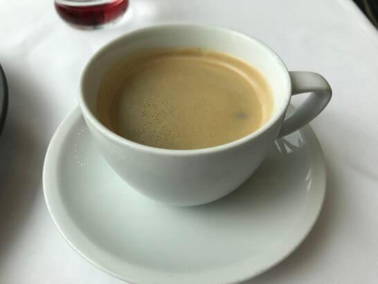 コンラッド東京のコラージュのコーヒー
