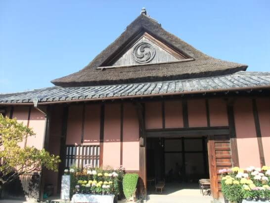 大阪府熊取町にある重要文化財 中家住宅