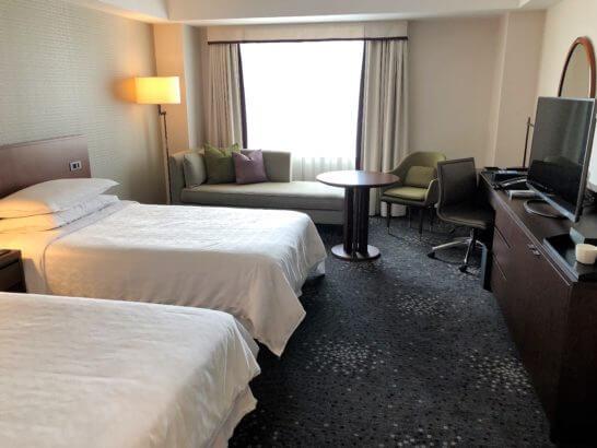 横浜ベイシェラトンホテルのデラックスツイン