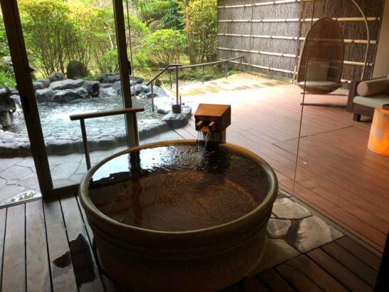 箱根吟遊の客室のお風呂