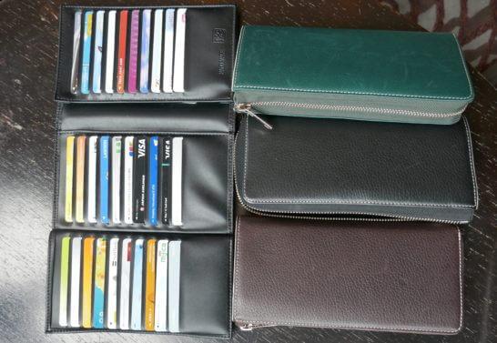 菊地崇仁さんのお財布