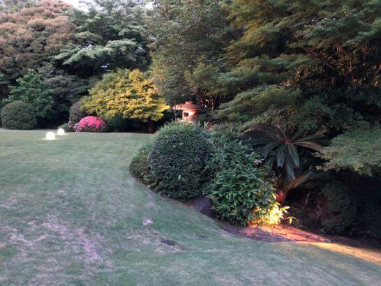 フランス大使館の庭