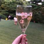 LA LISTE日本最優秀レストランを祝うレセプションのシャンパン