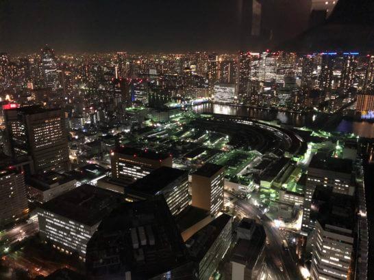 カレッタ汐留の北海道の夜景