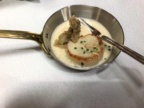 LA LISTE日本最優秀レストランを祝うレセプションの料理 (2)