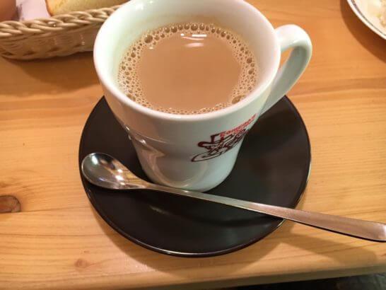 コメダ珈琲のカフェオレ