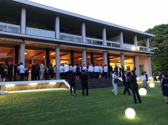 アメックスのフランス大使館でのイベント