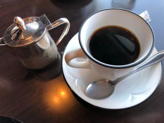 なだ万のコーヒー