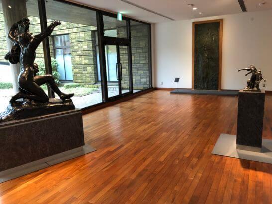 国立西洋美術館の彫刻ゾーン