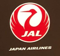 JALのロゴマークである「鶴」