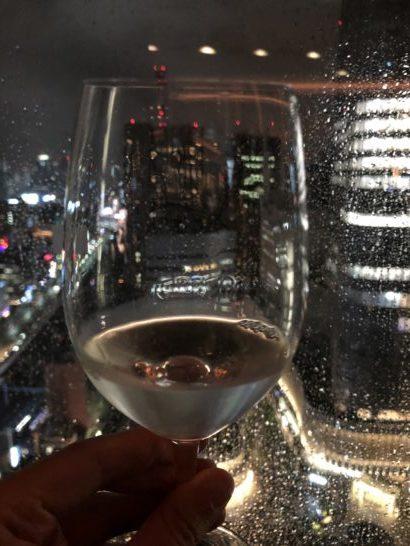 SAKE COMPETITION 2018 授賞パーティーの日本酒グラス (1)