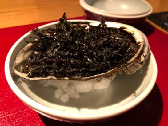分とく山 ホテルインターコンチネンタル東京ベイ店の鮑磯焼