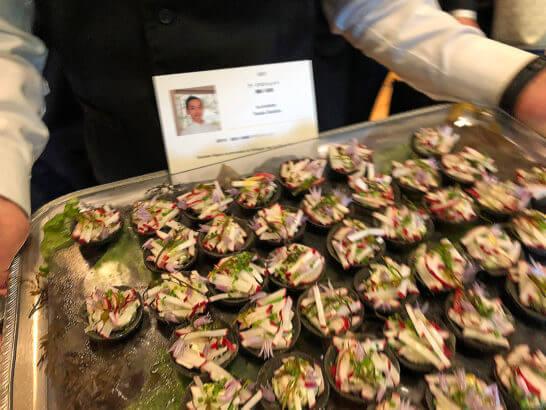 ダイナースクラブ フランスレストランウィークのフィンガーフード (2)