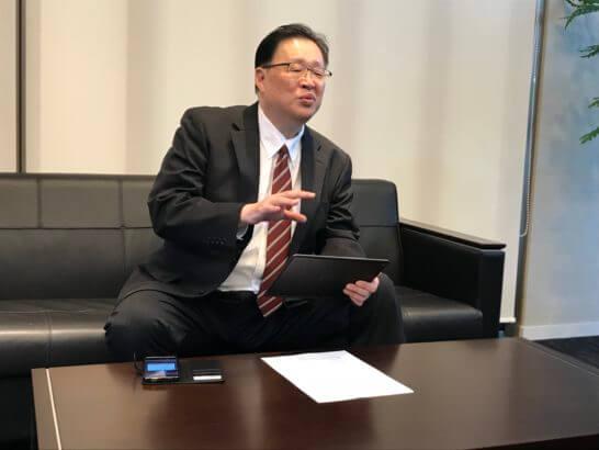岡三オンライン証券 営業推進部長の稲田弘文さん