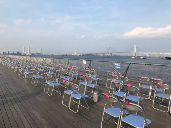 アメックスの横浜花火大会の指定席