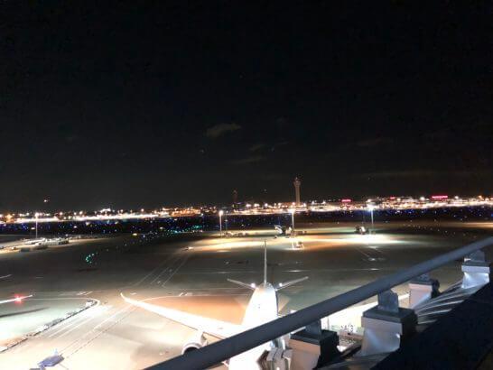 羽田空港 国際線ターミナルの夜景