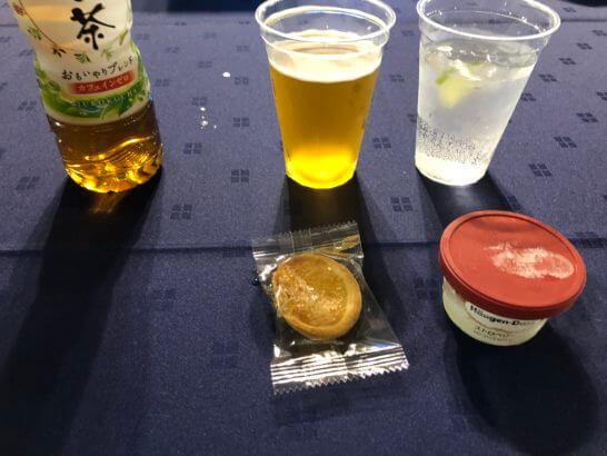 アメックスの横浜花火大会の飲み物・お菓子・アイス