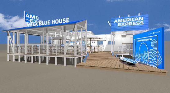 AMEX BLUE HOUSE