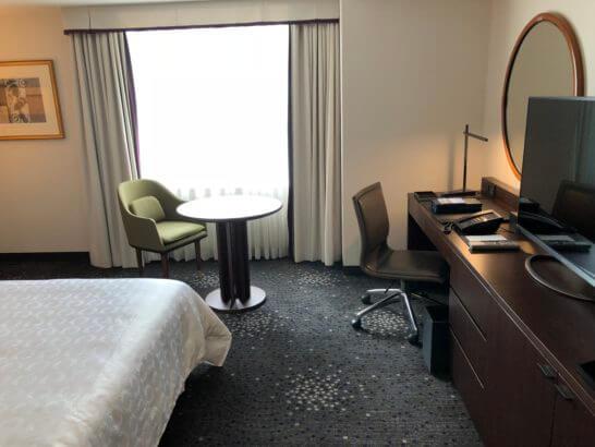 横浜ベイシェラトンホテルのツインルーム(クラブフロア)
