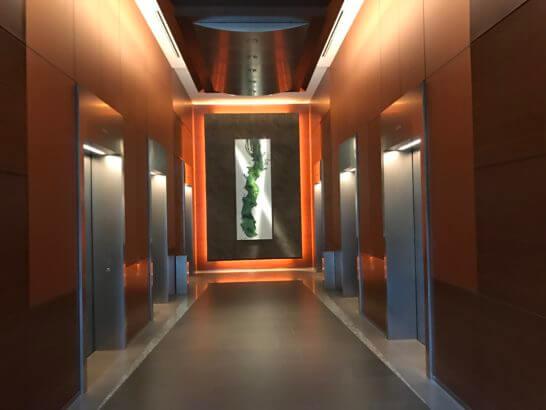 グランドハイアット東京のエレベーター