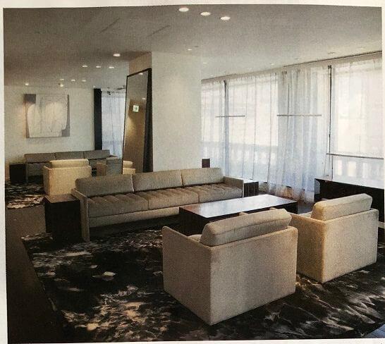 バーニーズニューヨークの新宿店 VIPルーム