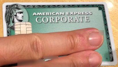 アメックスのコーポレートカード