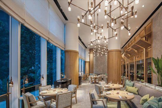 ウォルドーフ・アストリア・バンコクのレストラン